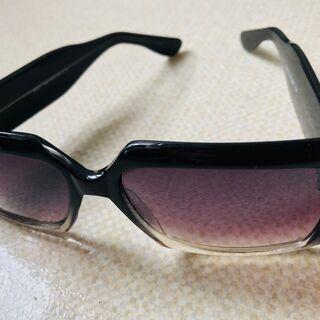 サングラス キルティング柄 大きめ UV400