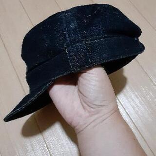 無印良品デニムの帽子