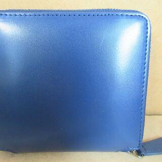 ☆ムラ MURA 二つ折り財布 ネイビー◆コンパクトで使いやすい