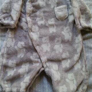 ベビー用コンビドレス(50~70cm)フリース素材