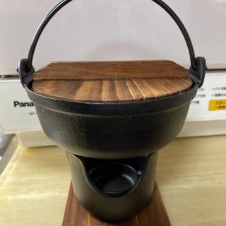 長く使える鉄鍋セット×2    鋳物シリコン塗装の画像