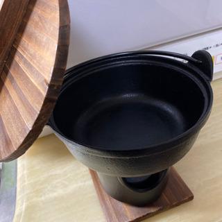 長く使える鉄鍋セット×2    鋳物シリコン塗装 - 那覇市