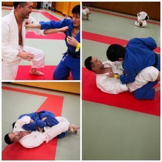柔道練習会 無料です。