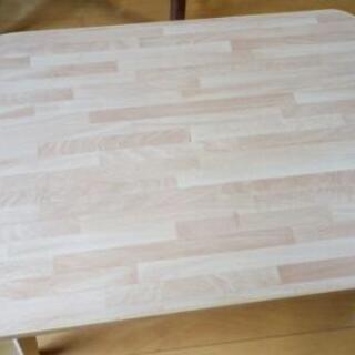 ミニ足折れ座卓 の画像