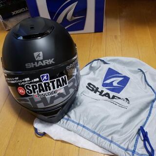 SHARK ヘルメット XLサイズ(60㎝-61㎝) マッドブラック