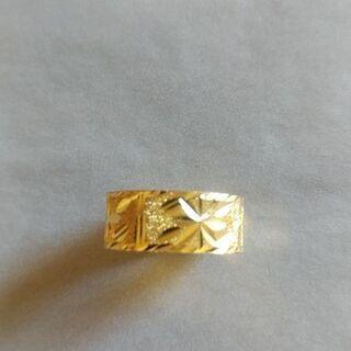 金の指輪(質屋鑑定済)  シナ金