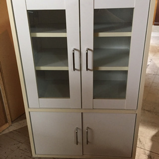 JF00957 ガラスキャビネット 食器棚