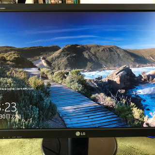 LG 24インチ ディスプレイ モニター 動作確認済みです