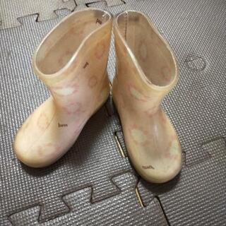 サイズ14 長靴 ピンク