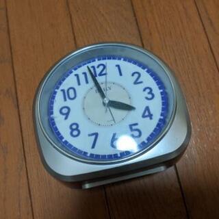 お譲り先決まりました。無料で差し上げます。置き時計 目覚まし時計