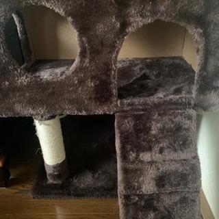 猫用 おしゃ爪とぎ 猫タワー 多頭飼い 麻紐 − 宮城県