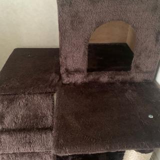猫用 おしゃ爪とぎ 猫タワー 多頭飼い 麻紐 - 仙台市