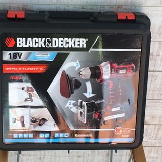 Black & Deckerブラックアンドデッカー マルチツール...