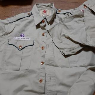 ボーイスカウト制服半袖