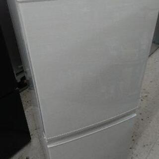 【クリーニング済み】SHARP(シャープ) 137L 2ドア冷凍...