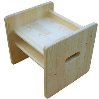 新品です 在庫処分品でお安く! 高さが4つに変わる国産手作り木製...