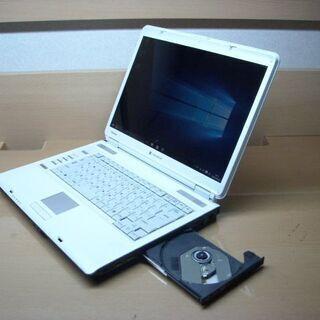 ノートパソコン 15.4インチディスプレイ  DVDドライブ内蔵