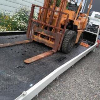 農業機械陸送 トラクター フォークリフト 改造車 全国陸送