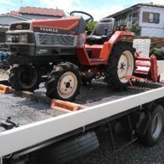 農機具陸送 フォークリフト陸送 改造車陸送 長距離陸送 不動自動車
