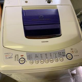 東芝全自動洗濯機 クリーニング済み