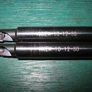 ミスミ MKEM-10-12-80 肩削り用エンドミル 中古 フ...