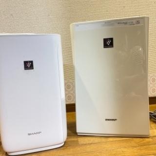 【ネット決済】SHARP 空気清浄機 加湿器
