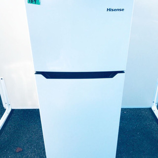 ✨高年式✨169番 Hisense✨2ドア冷凍冷蔵庫✨HR-B1...