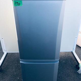 ✨高年式✨170番 三菱✨ノンフロン冷凍冷蔵庫✨MR-P15A-S‼️