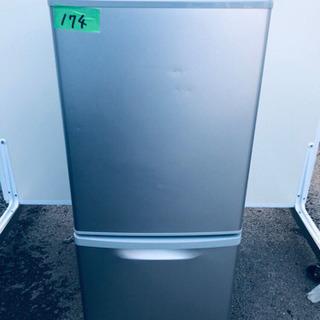 174番 Panasonic✨ノンフロン冷凍冷蔵庫✨NR-B14...