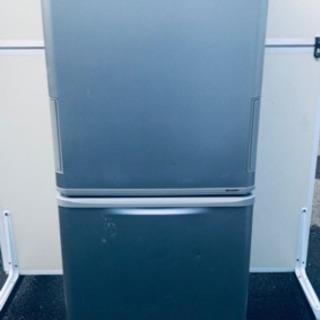 ‼️大容量‼️178番 シャープ✨ノンフロン冷凍冷蔵庫✨SJ-W...