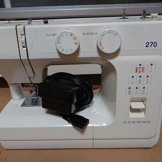 ジャノメ ミシン 270