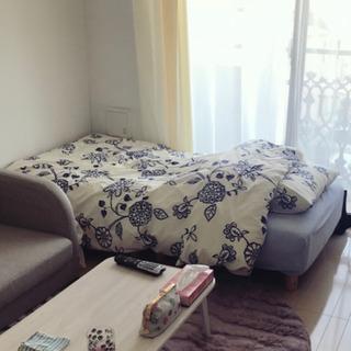 マットレスベッド 分割式 白