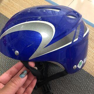 自転車用ヘルメット(青色)