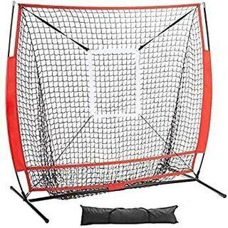 AKOZLIN 野球ネット 防球ネット 野球練習ネット 折り畳み式