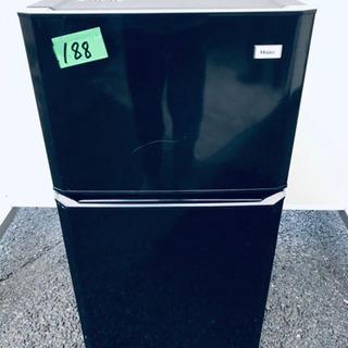 188番 Haier✨冷凍冷蔵庫✨JR-N106E‼️