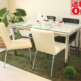 ダイニングテーブル ガラステーブル
