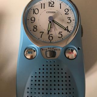 【ネット決済・配送可】【好きな音楽で起きられる!】目覚まし時計