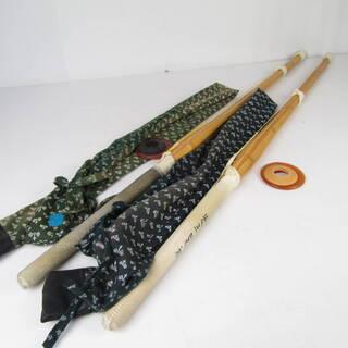 N1254 ・【セット売り】 竹刀 2本セット 剣道 素振り 練...