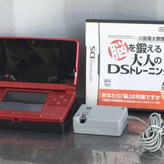 格安で! 任天堂 3DS◇ソフト3個付◇CTR-001