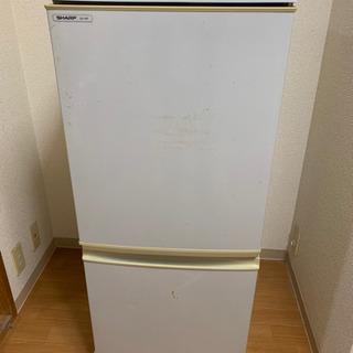 【現在取引中】古い冷蔵庫ですが、普通に使えます。の画像