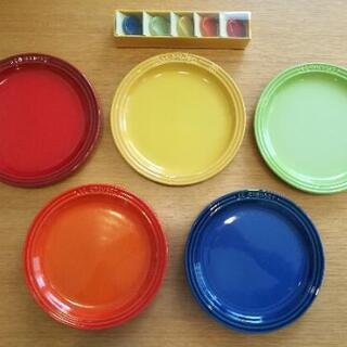【交渉中】ル・クルーゼ 食器セット(19cmプレート&箸置)