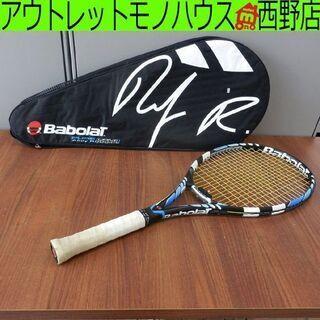 テニスラケット バボラ ピュアドライブ ケース付き テニス…