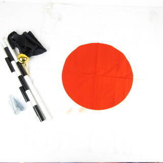 N1433・ 日本 国旗セット 日の丸 旗 昭和 レトロ 玄関飾...