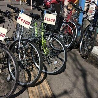 中古自転車各種5,000円から