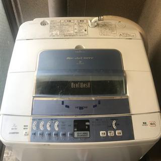 引き渡し者決定!〈無料〉日立の洗濯機 - 京都市