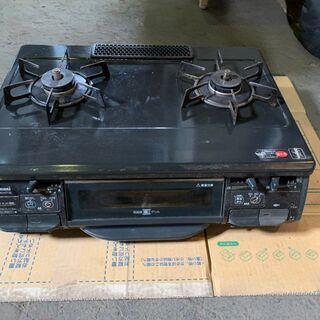2012年製 リンナイ 2口ガスコンロ RTS-M660VCTS...