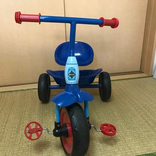 スパイダーマンの三輪車