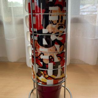 Francfranc ディズニー ミッキーのマグカップ 5個セッ...
