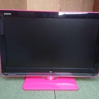 ピンク テレビ19型