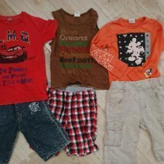 男の子 男児 110 120 ズボン パンツ シャツ タンクトップ